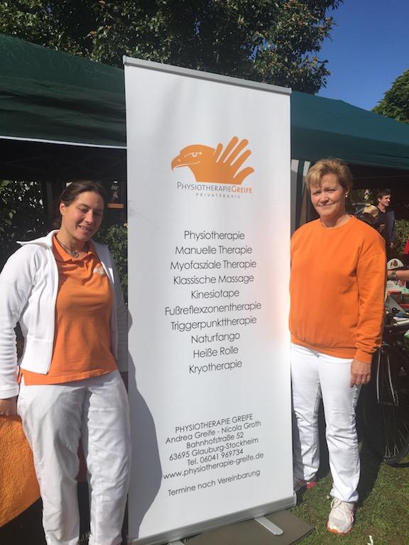 Gesundheitstag Eintracht Glauberg 2015, Physiotherapie Greife, Glauburg-Stockheim