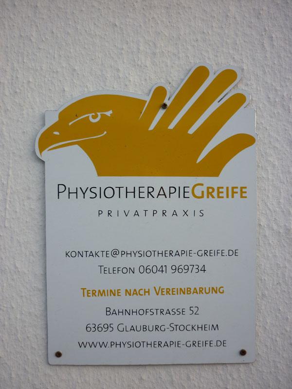 Herzlich Willkommen, Physiotherapie Greife, Glauburg-Stockheim